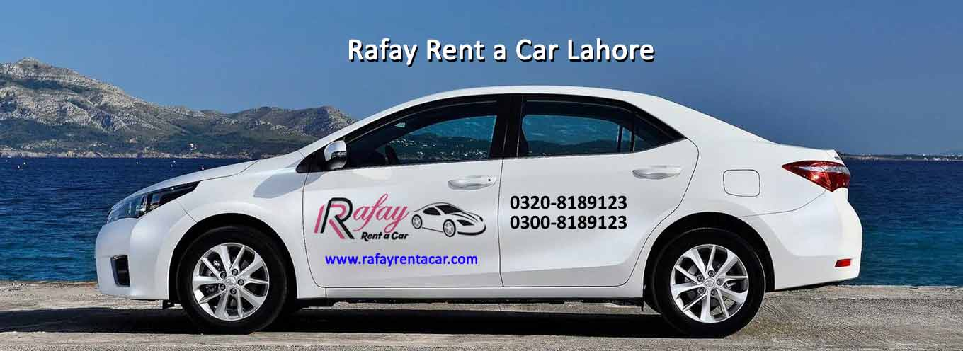 Rafay Hire Car or Rent a car in Lahore
